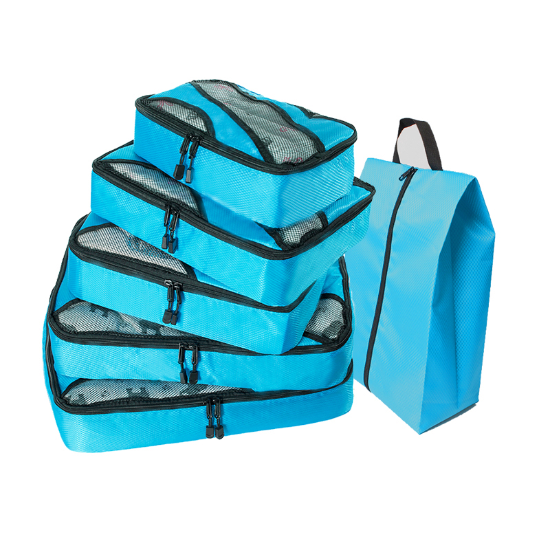 Nylon Men 39 s Female Travel Bag Organizer Hand Luggage Compression Packing Cube Travel Luggage Organizer Waterproof Double Zip in Travel Bags from Luggage amp Bags