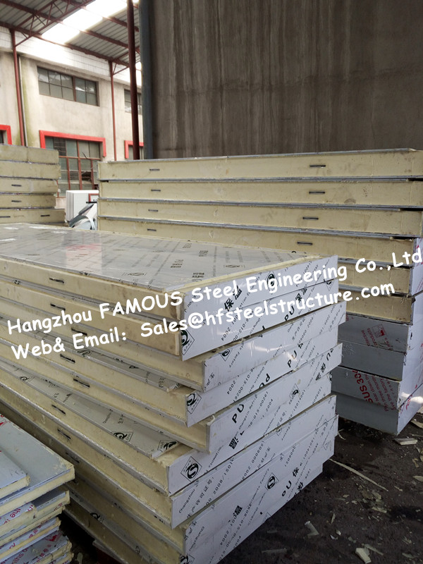 Walk In Cold Room Panel And Polystyrene PU Sandwich Metal Camlock Panels For Cold Storage From China Manufacturer