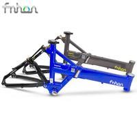 Anrancee FSA2009 Aluminum Folding Bike Frame Fork 20 Disc Brake Frameset