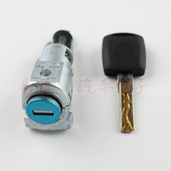 Image 3 - for Skoda Superb Octavia OEM Left Front Door Lock Cylinder for Skoda Superb Octavia with 1pcs KEYdoor lock cylinderlock cylinderdoor lock -