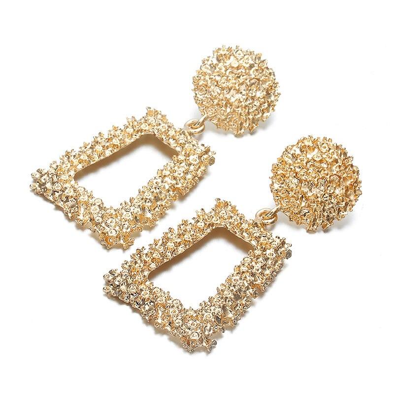 Metal Earrings for Women, Earrings for Women, Geometric Earrings for Women, Big Earrings for Women, Trendy Metal Earrings for Women, earrings for women online, buy earrings online cheap, cheap earrings online, fashion earrings online