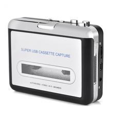 USB Кассетная лента для ПК MP3 CD коммутатор конвертер захвата аудио музыкальный плеер с наушниками