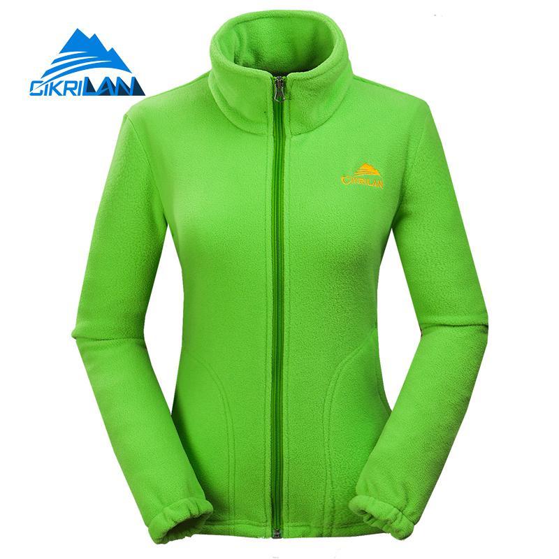 2017 для спорта и отдыха, флис открытый Пеший Туризм Куртка Для женщин Рыбалка кемпинг пальто восхождение дышащий Chaquetas Mujer
