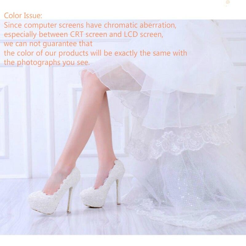 Mariage Heel 6cm Dentelle La White 43 Grande Flat Mariée forme 3cm À Fleur 8cm Talons white Blanc Hauts Femmes 10cm Chaussures Demoiselle De white Perle Plate Noce D'honneur 12cm Taille Heel Main 14m qXpcE48