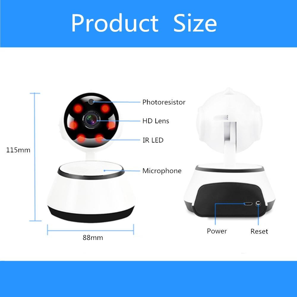 Wireless Wifi Security Camera HD 720P Night Vision Home Video Surveillance CCTV IP Camera P2P SD Card Mini Baby Monitor