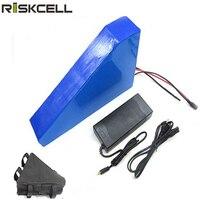 Электрический велосипедный аккумулятор 48 v 20ah литий ионный аккумулятор треугольник Тип 48 v 1000 w литиевая батарея с сумкой + зарядное устройст