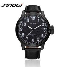 SINOBI Men Watches 2016 New Fashion Men'S Quartz Hour Clock Analog Sport Watches For Men Military Wrist Watch Orologio AA236