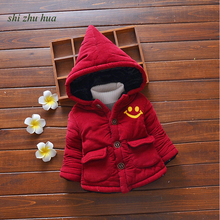 Children Jackets Cotton Thicken Outerwear High Quality Winter New Kids Clothing Boys Girls Clothes Baby Cartoon Tops Coat 1-Three Y