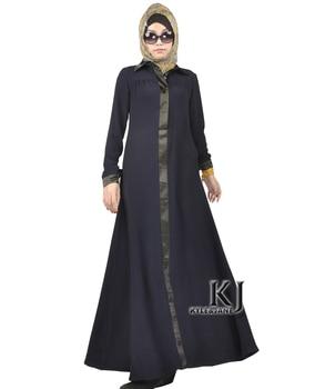 2016 fashion abaya muslim girl long dress turkish women clothing burqa fashion robe plus size dubai arab djellaba KJ160204 Одежда