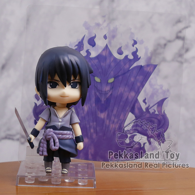 Naruto Shippuden Uzumaki Naruto 682 / Uchiha Sasuke 707 Nendoroid Doll PVC Action Figure Collectible Model Toy
