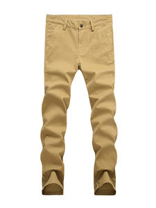 VOMINT Male Trousers Pant Stretch Straight Plus-Size Cotton Suit Long High-Quality Man