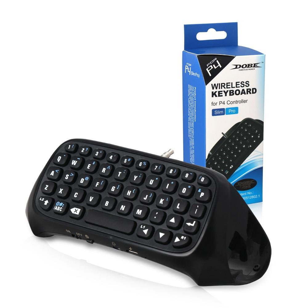 Ambicioso Dobe Soporte Tp4-008 Para Ps4 Mini Teclado Bluetooth Inalámbrico Para Ps4 Manejar El Teclado Para Playstation 4 Para Ps4 Controlador De Juego R30