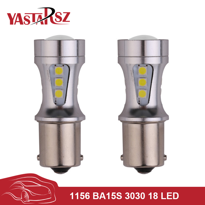 2x высокая мощность s25 1156 BA15s из 1200ЛМ P21W canbus нет ошибок светодиодные лампы белого указатели поворота тормоза резервного копирования Обратный свет Противотуманные фары