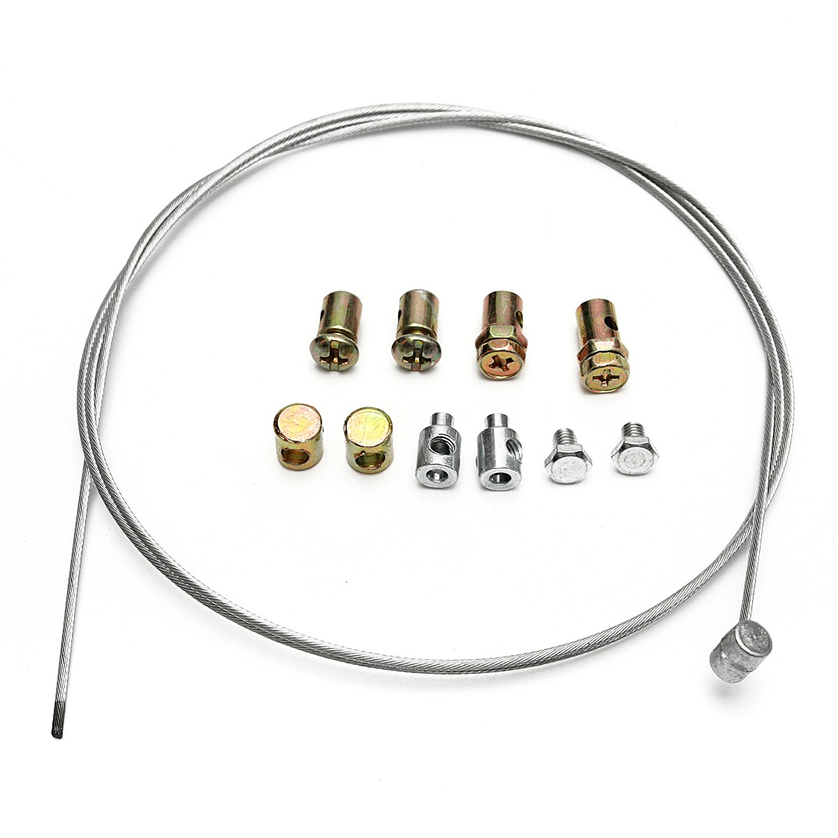 1 Set Motorcycle Emergency Throttle Cable Repair Kit for