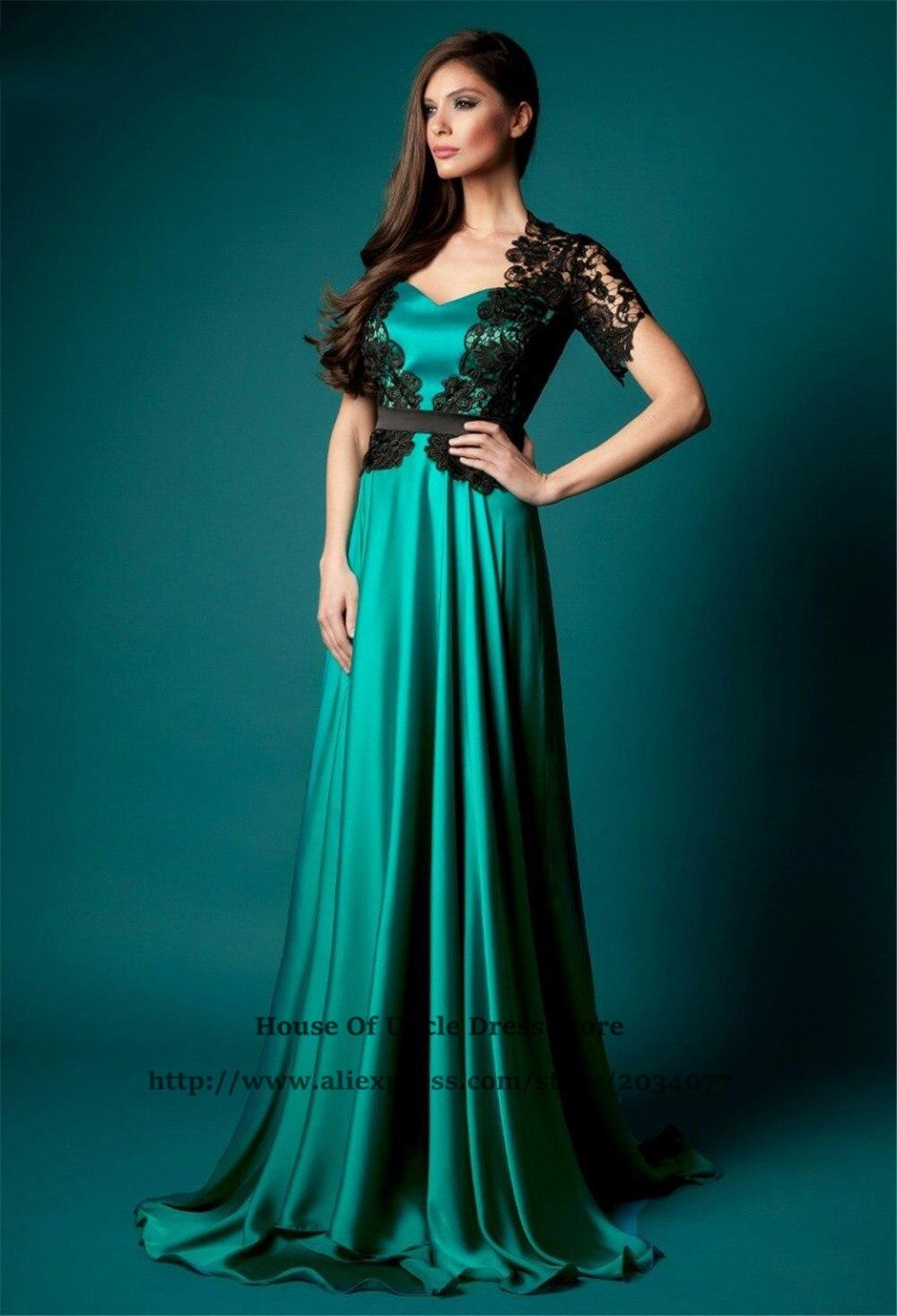 Abiti da cerimonia donna Emerald Green Formal Dress Elegant ...