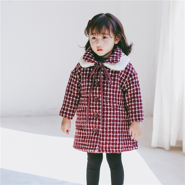 594f680eb91b 2018 autumn kids wool coats age 2 3 4 5 6 yrs winter baby girls ...