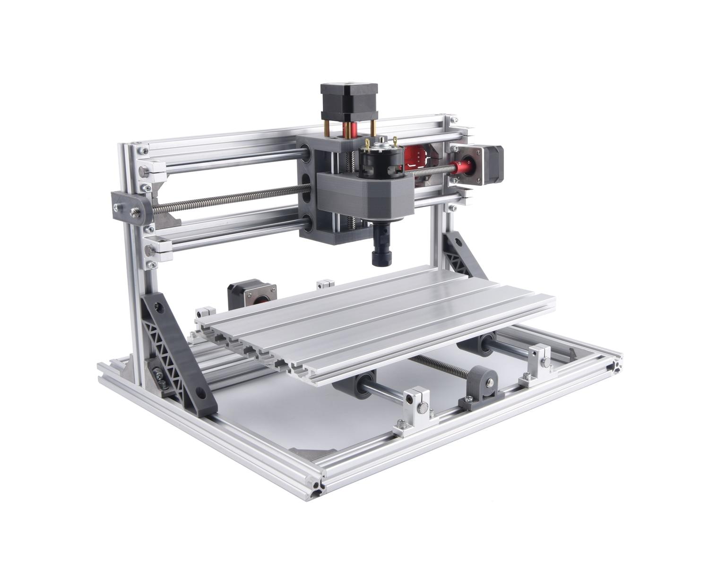 CNC 3018 Pro, machine de gravure cnc bricolage, fraiseuse Pcb, - Machines à bois - Photo 4