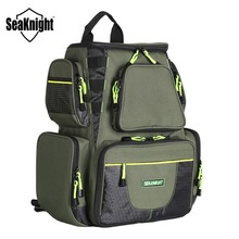 SeaKnight SK004 Outdoor Fishing Tackle Bag  Large Capacity 25L Multifunctional 41*44*20cm  Fishing Backpack 1000D Nylon