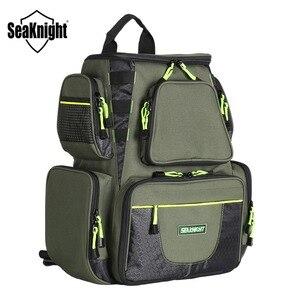 Image 1 - SeaKnight SK004 sac de pêche en plein air grande capacité 25L multifonctionnel 41*44*20cm sac à dos de pêche 1000D Nylon