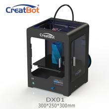 DX01 300*250*300 mm CreatBot 3d printer  Single Extrude Large Build Size Metal Frame 3D Printing 2KG Filaments abs for free