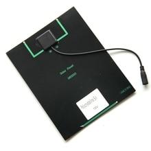 5,2 Вт В 12 В солнечная батарея поликристаллическая солнечная панель + DC Выход DIY Солнечная батарея зарядное устройство для В 9 В батарея мм 210*165*3 мм Бесплатная доставка