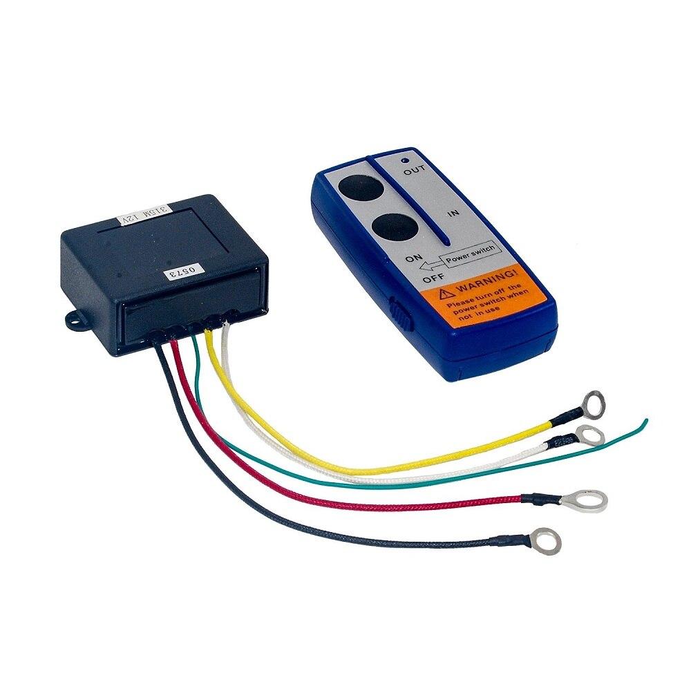 Wireless Winch Remote Control Kit 12V Switch