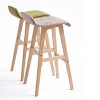 100% wood Bar chair,Bar stools sillas,cadeira,pastoral style bar chair,leisure style,Multiple color choices,Wood Bar furniture