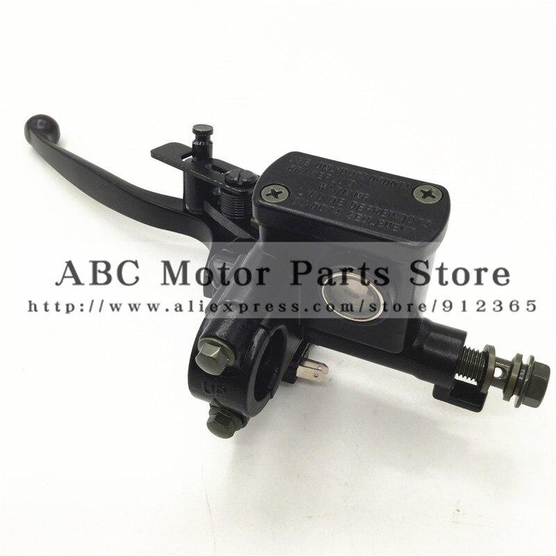 """Left Hand BRAKE LEVER ATV 50 70 90 110 125 150cc Quad master cylinder chinese 7/8"""" Handlebar Hydraulic Brake Cylinder"""