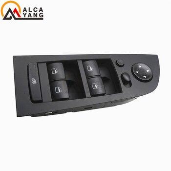 61319217332 interrupteur de commande de miroir de fenêtre de conducteur électrique panneau de commutateur de commutateur de fenêtre d'alimentation pour BMW E90 318i 320i 325i 330i M3