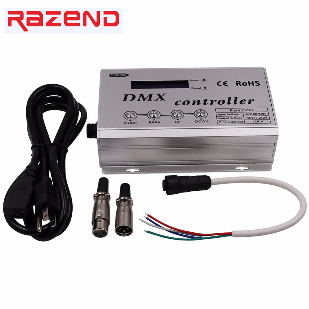 110V 220V RGB Led DMX Decoder Console Controller Dimmer for 110V ...