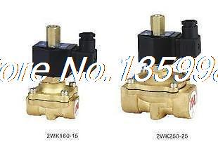 Electric Solenoid Valve Water Air N/O 12V DC 3/4 Normally Open Type free shipping 2pcs 1 1 4 electric solenoid valve water air n o 220v ac normally open type 2w350 35 no