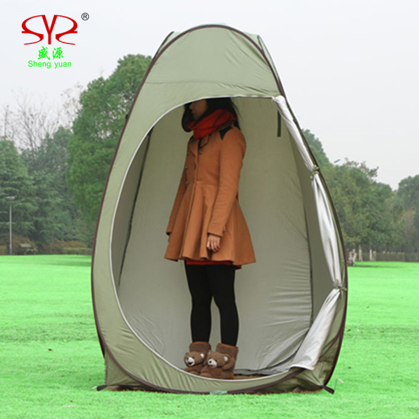 portable toilet tent c&ing toilet portable changing tent Outdoor shower tent Bath Change Clothes Tent Toilet with shower bag-in Tents from Sports ... & portable toilet tent camping toilet portable changing tent Outdoor ...