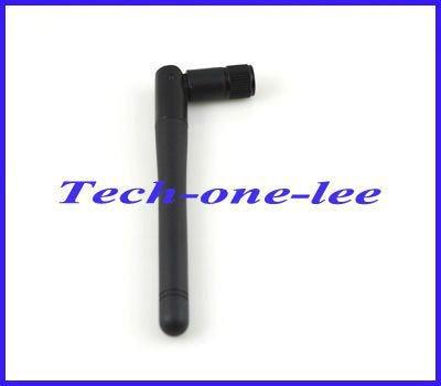 Free shipping 1 piece WIFI Antenna 2.4GHz 2-3dBi SMA plug male Omni AERIAL for wireless router/wireless LANs
