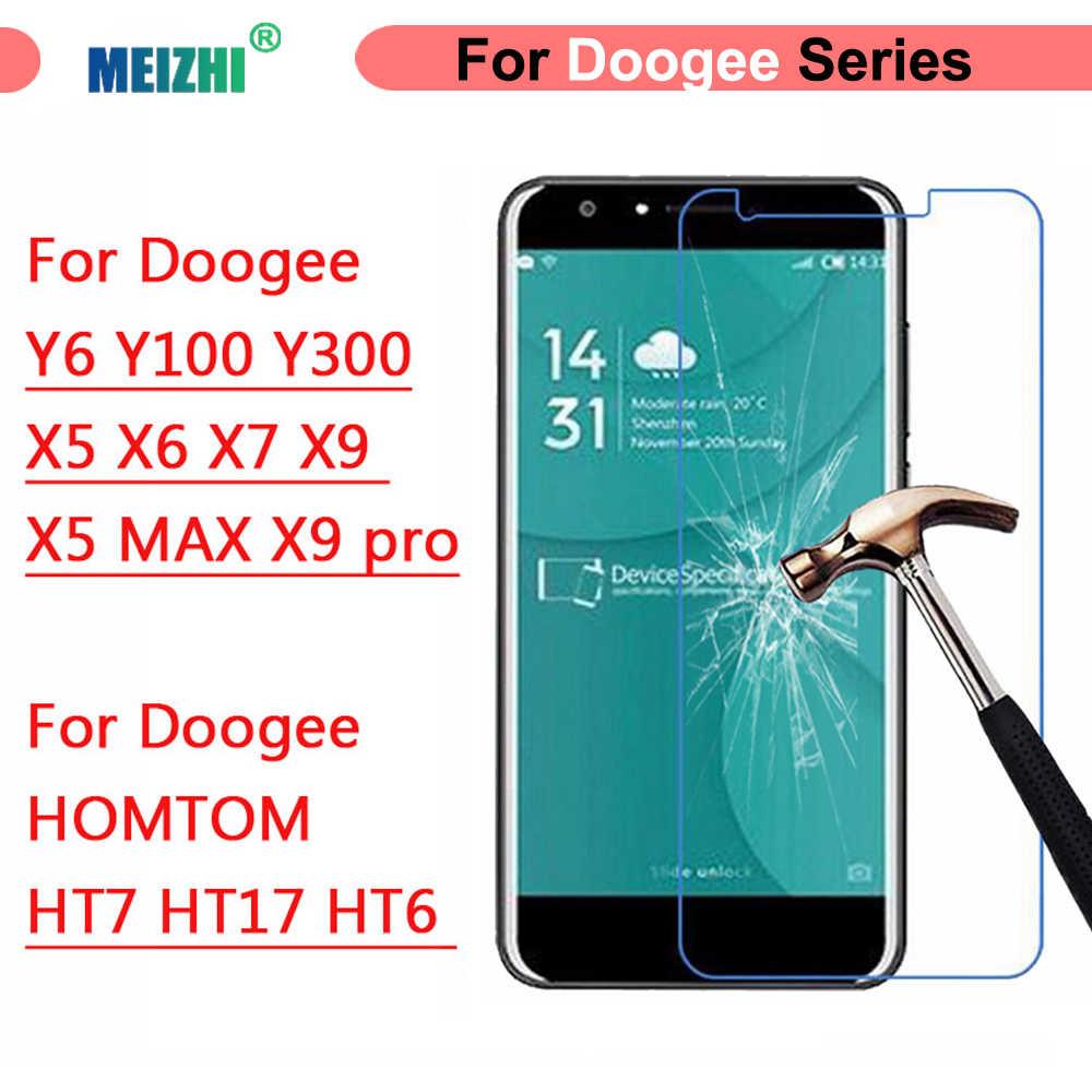 Vetro temperato Per Doogee X5 MAX MiX F5 X6 X7 X9 pro Y6 Y300 X 5 6 Caso protezione Dello Schermo 2.5D su HOMTOM HT7 HT17 HT6 Films