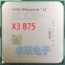 AMD Phenom II X3 B75 75 3,0 ГГц комплексный широкополосный канал передачи данных core Процессор процессор разъем AM3