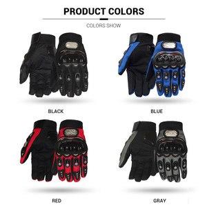 Image 5 - PRO BIKER Motorcycle Gloves Men Motocross Gloves Full Finger Riding Motorbike Moto Gloves Motocross Guantes Gloves M XXL