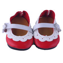 Fashion styles of shoes fit for 43cm new Baby born doll cute 43cm zapf doll accessories shoes N469