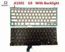 Genuine New A1502 US Keyboard For Macbook Pro Retina 13″ 2012-2015 Year With Backlight Language version US Replacement
