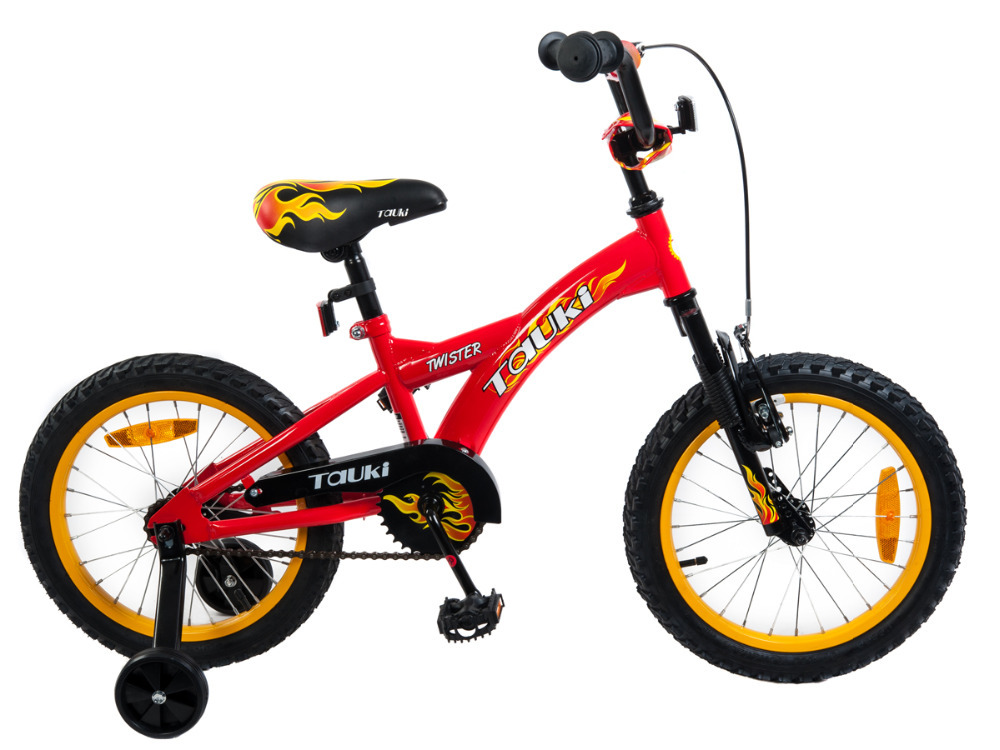 Tauki freeshipping 16 Inch Kid Bike BMX Bike with Removable Training ...