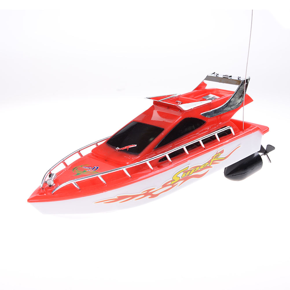 2017 New RC Boat High Speed Remote Control Boats Electric Plastic Waterproof Toys Model Ship Sailing RC Boat Ship For Chirldren
