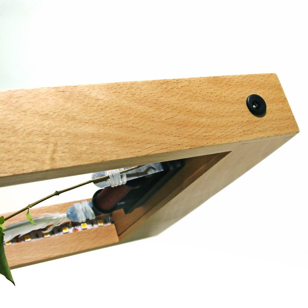 1 Stück Langsam Rahmen LED Optische Täuschung Skulptur Zeitlupe ...