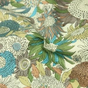 1 meter Sunflower Print Cotton