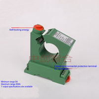 High precision Self locking Function Open Type DC AC Current Transmitter 4 20ma|Air Conditioner Parts|   -