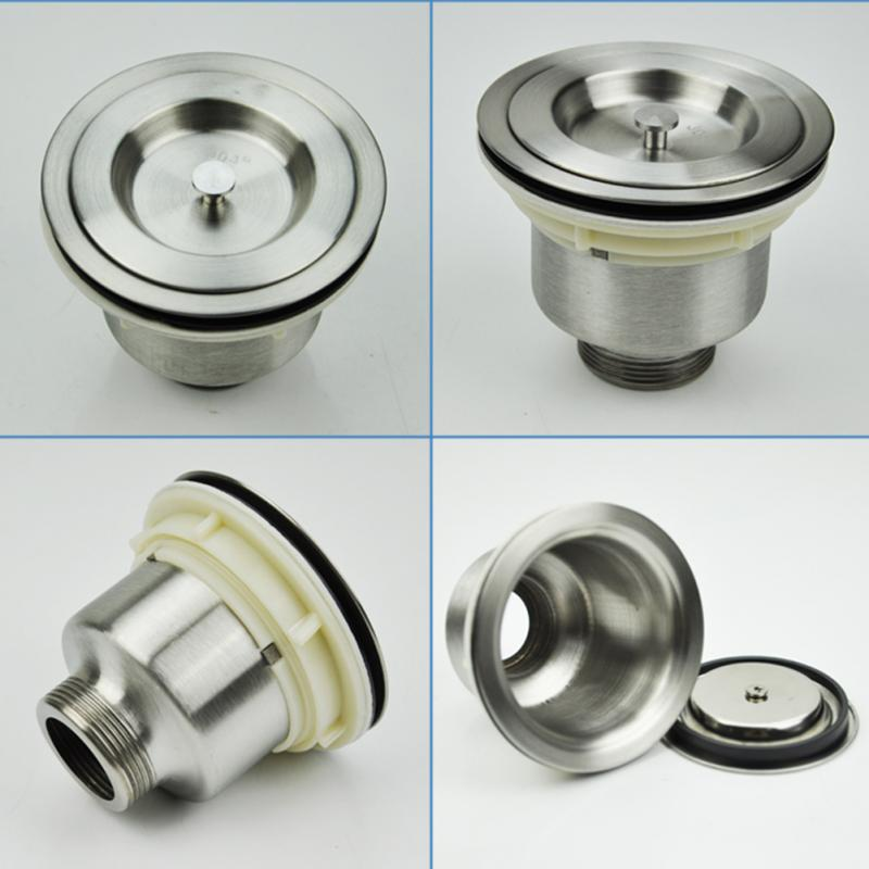 1Pc Stainless Steel Kitchen Sink Filter Sewer