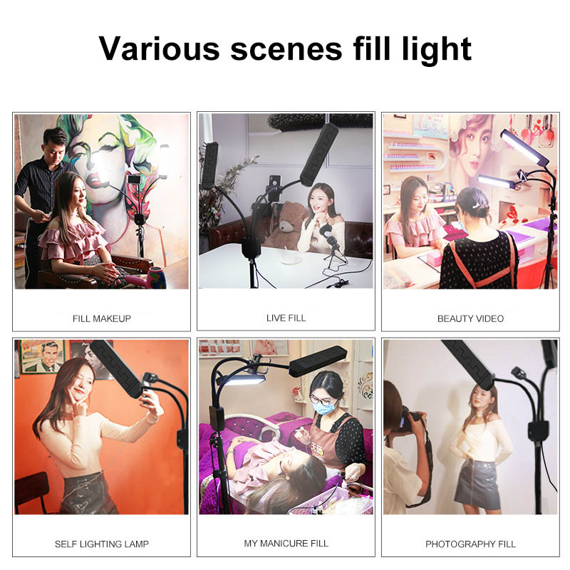 Video, Portrait, Product Photography Studio Led Light Stand With Tripod 6