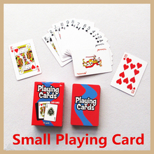 Free shipping small playing poker card