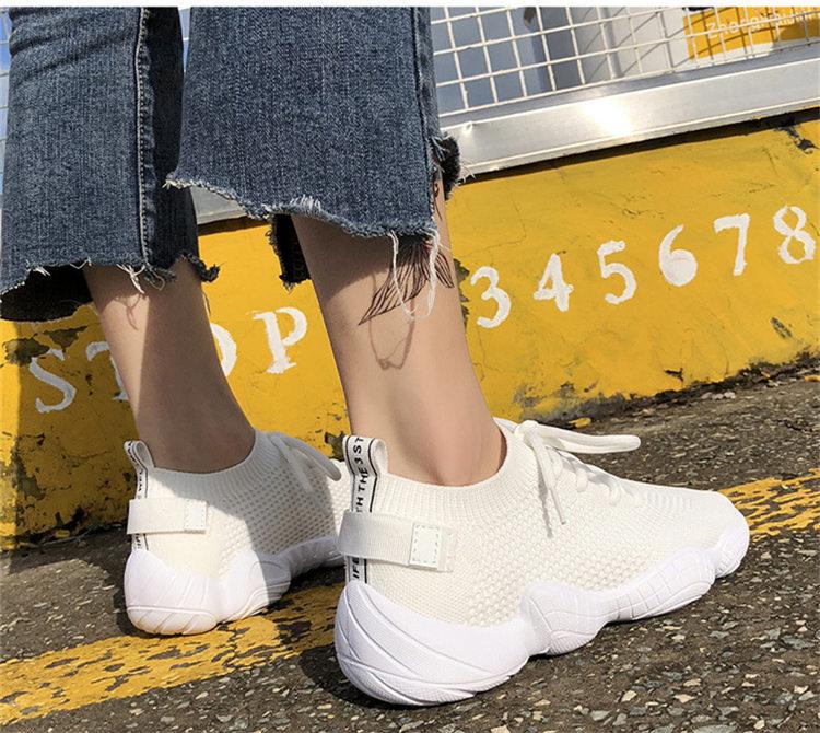 Women Vulcanized Mesh Sneakers 7