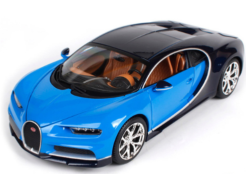 1:18 Bugatti Chiron Diecast Model Roadster Car Vehicle With Origin Box Kids Christmas Gift Car Model Toys Free ShippingDiecasts & Toy Vehicles