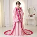 Alta Calidad Chino Folk CostumeTang Emperatriz Wu Zetian Rendimiento Hanfu Ropa Traje de Hadas de la Princesa Reina Traje 18