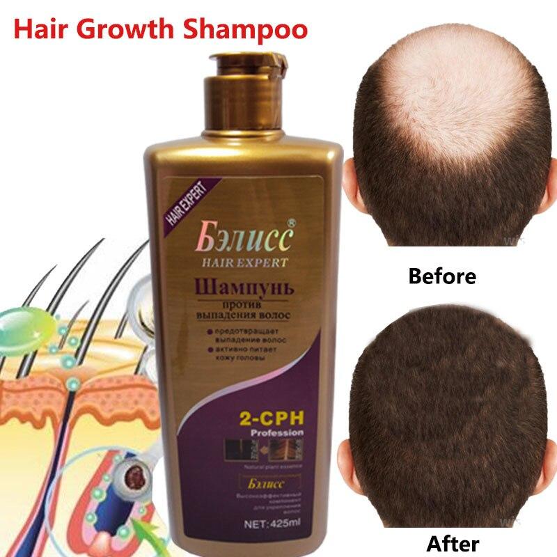 Champú Anti-caída para el cabello Extracto de hierbas naturales pelo recrecimiento rápido champú cuidado profesional 3 tipos envío gratis